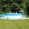 Venkovní kruhový bazén