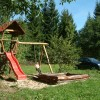 Dětské hřiště se skluzavkou